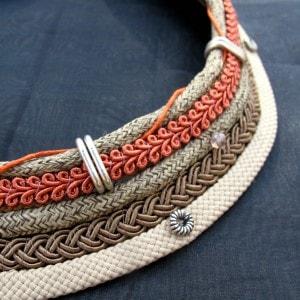 collar estilo africano