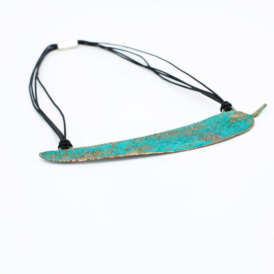Collar de cobre artesanal Rubrum Anuskas