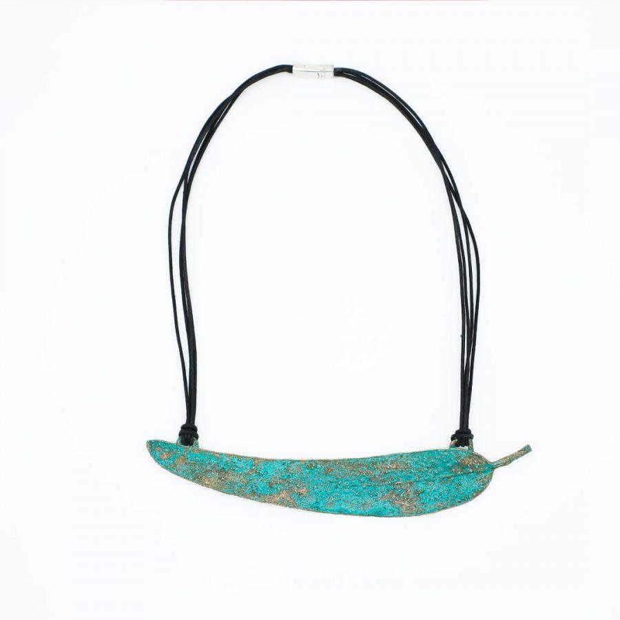 Collar de cobre y plata Rubrum Anuskas